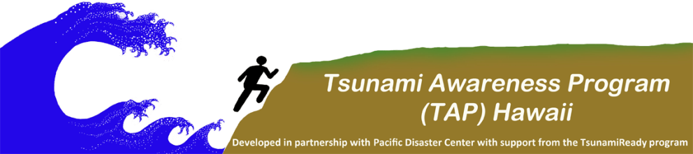 Tsunami Awareness Program Header